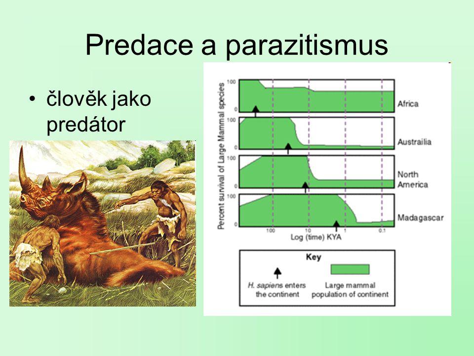 Predace a parazitismus člověk jako predátor