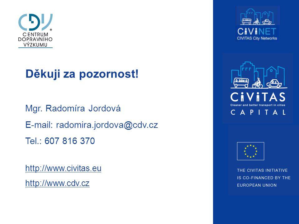 Děkuji za pozornost! Mgr. Radomíra Jordová E-mail: radomira.jordova@cdv.cz Tel.: 607 816 370 http://www.civitas.eu http://www.cdv.cz