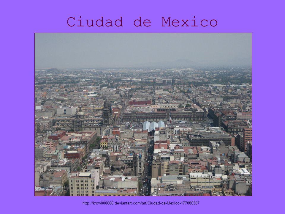 Ciudad de Mexico http://krow000666.deviantart.com/art/Ciudad-de-Mexico-177080307