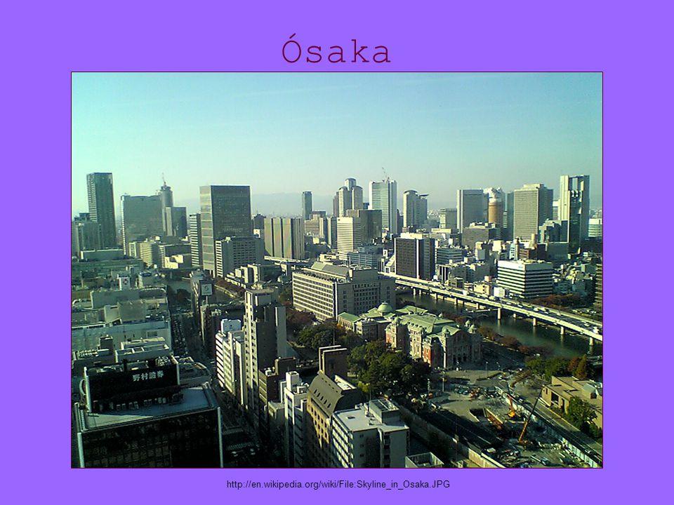 Ósaka http://en.wikipedia.org/wiki/File:Skyline_in_Osaka.JPG