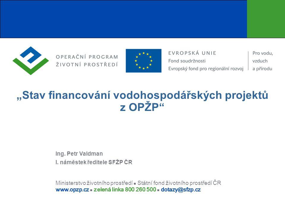 Obsah prezentace  OP ŽP celkový přehled implementace  S tav čerpání PO 1  Analýza predikce čerpání  Očekávané události