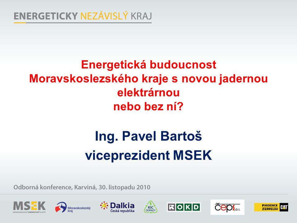 Energetická budoucnost Moravskoslezského kraje s novou jadernou elektrárnou nebo bez ní.