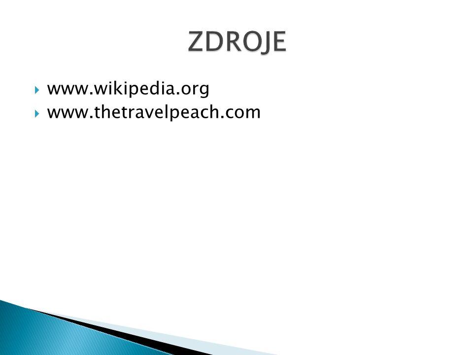  www.wikipedia.org  www.thetravelpeach.com