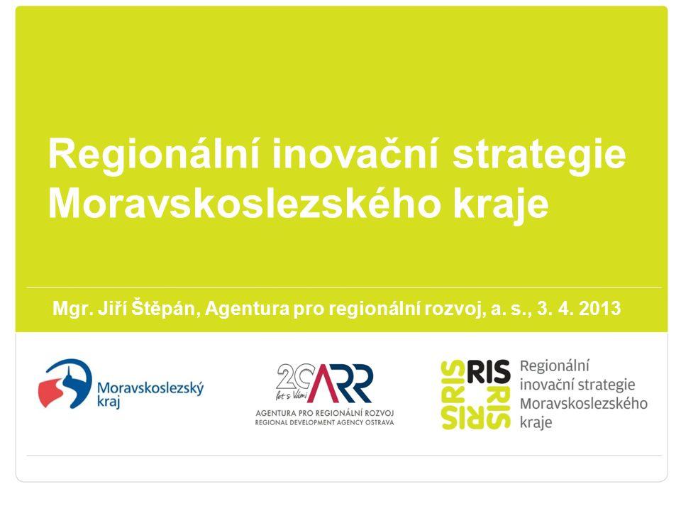 Regionální inovační strategie Moravskoslezského kraje Mgr.