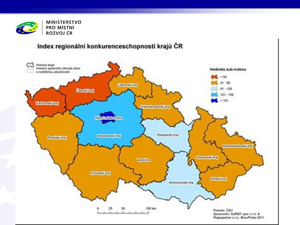 Struktura prioritní oblasti Veřejná správa a spolupráce Prioritní oblast Veřejná správa a spolupráce Institucionální cíl 8.1 Zkvalitňování činnosti veřejné správy 8.2 Systémová podpora regionálního rozvoje 9.1 Zkvalitnění plánovacích procesů krajské a obecní samosprávy 9.2 Rozvoj spolupráce při rozvoji území P.9 Podpora koncepčního rozvoje a spolupráce na regionální a místní úrovni P.8 Zkvalitnění institucionálního rámce pro rozvoj regionů 8.3 Informační a komunikační podpora fungování veřejné správy
