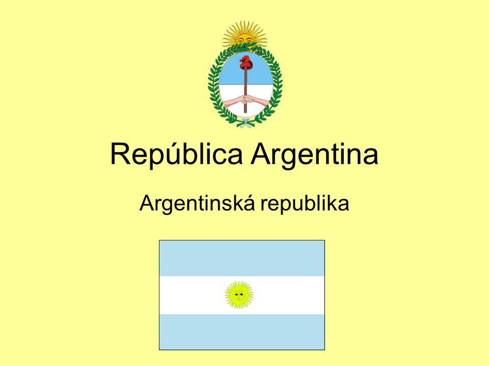 República Argentina Argentinská republika
