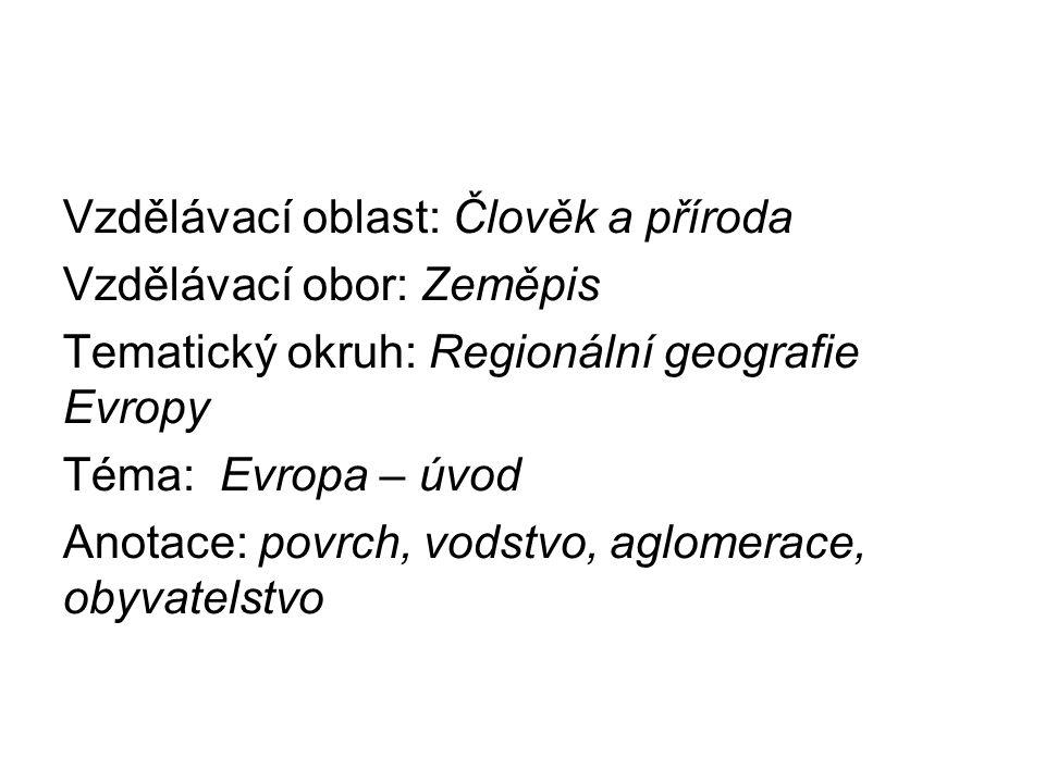 Povrch Střední Evropy S pomocí atlasu zakresli nejvýznamnější části povrchu Střední Evropy - hnědě pohoří: Alpy, Karpaty, Českou Vysočinu - zeleně nížiny: Severoněmeckou, Středopolskou, Velkou Uherskou
