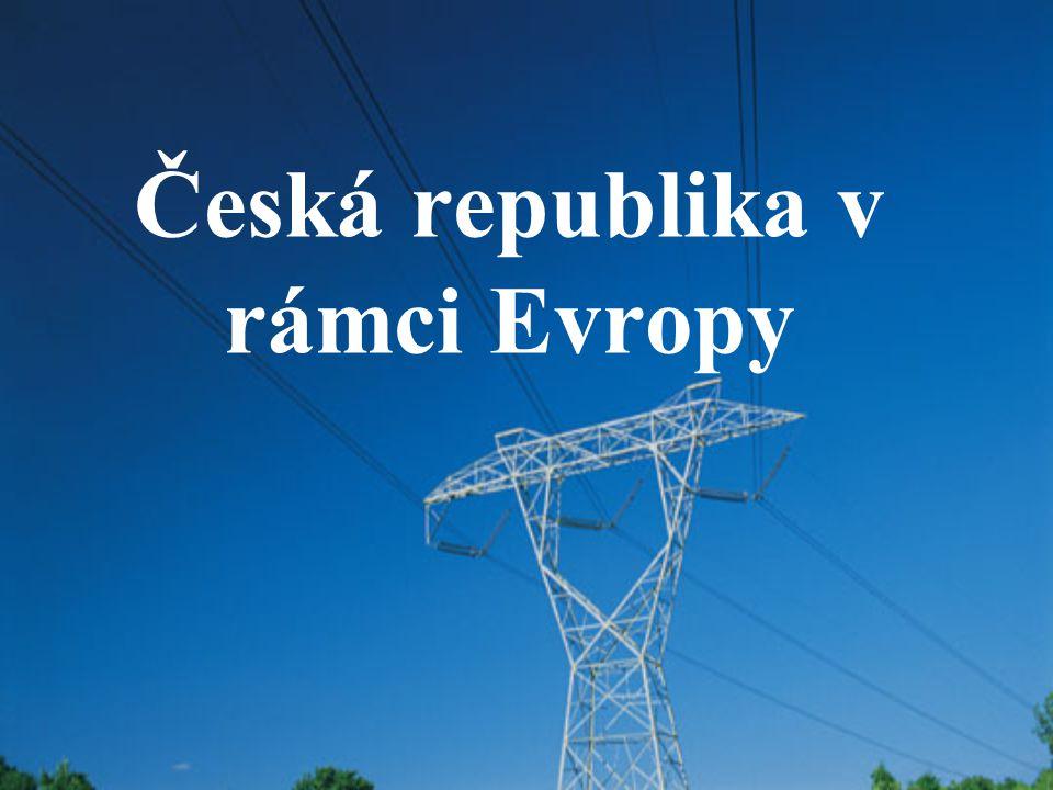 Česká republika v rámci Evropy