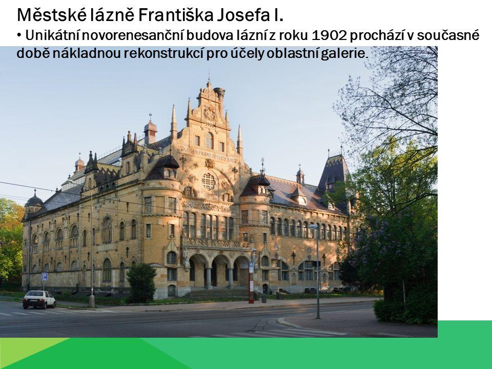Městské lázně Františka Josefa I.