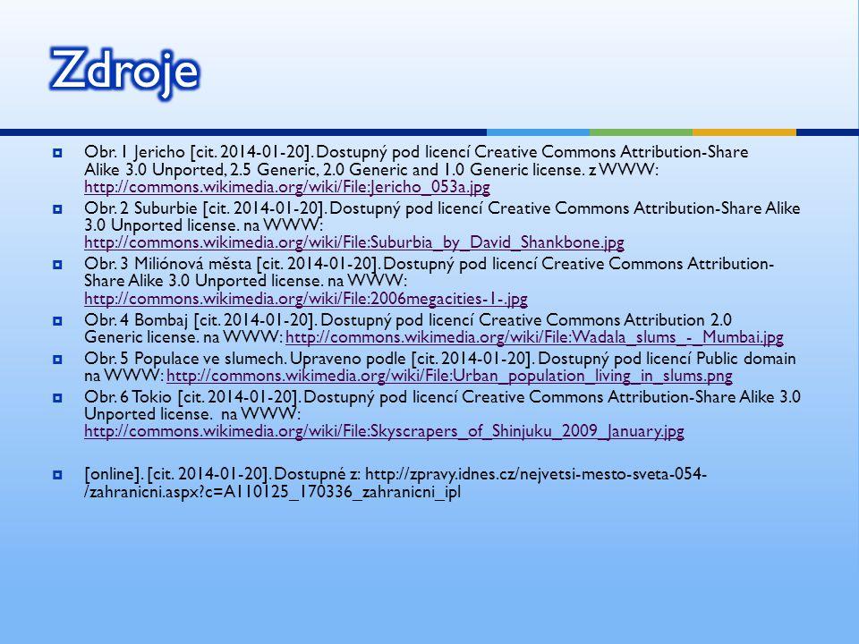  Obr. 1 Jericho [cit. 2014-01-20]. Dostupný pod licencí Creative Commons Attribution-Share Alike 3.0 Unported, 2.5 Generic, 2.0 Generic and 1.0 Gener