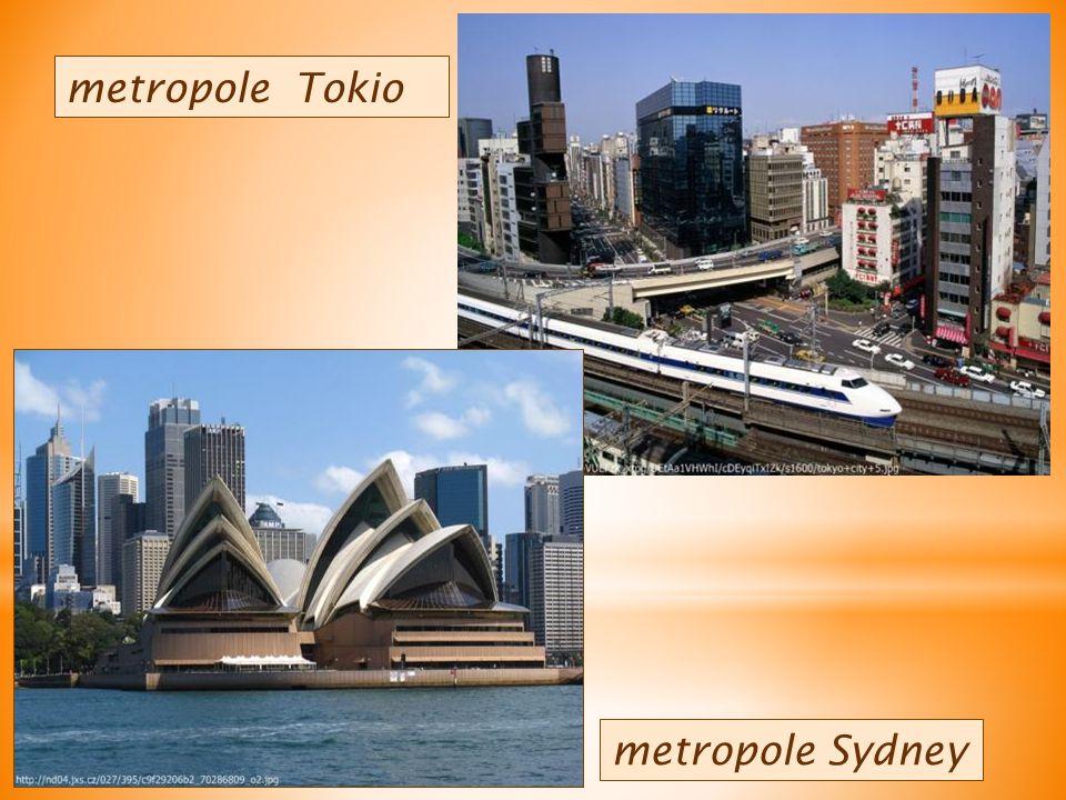 metropole Sydney metropole Tokio