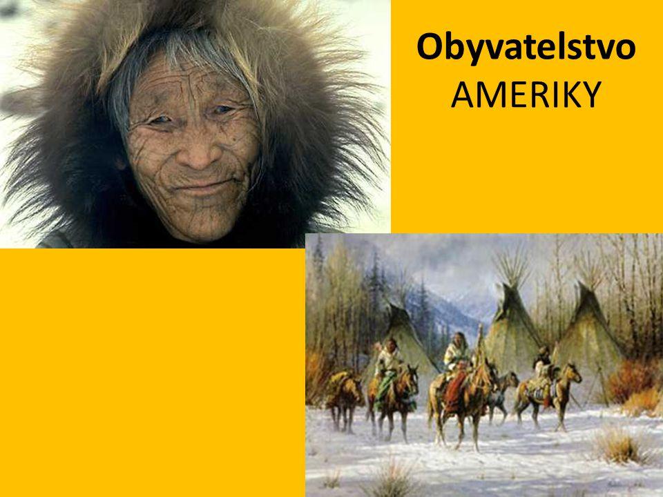 Obyvatelstvo AMERIKY