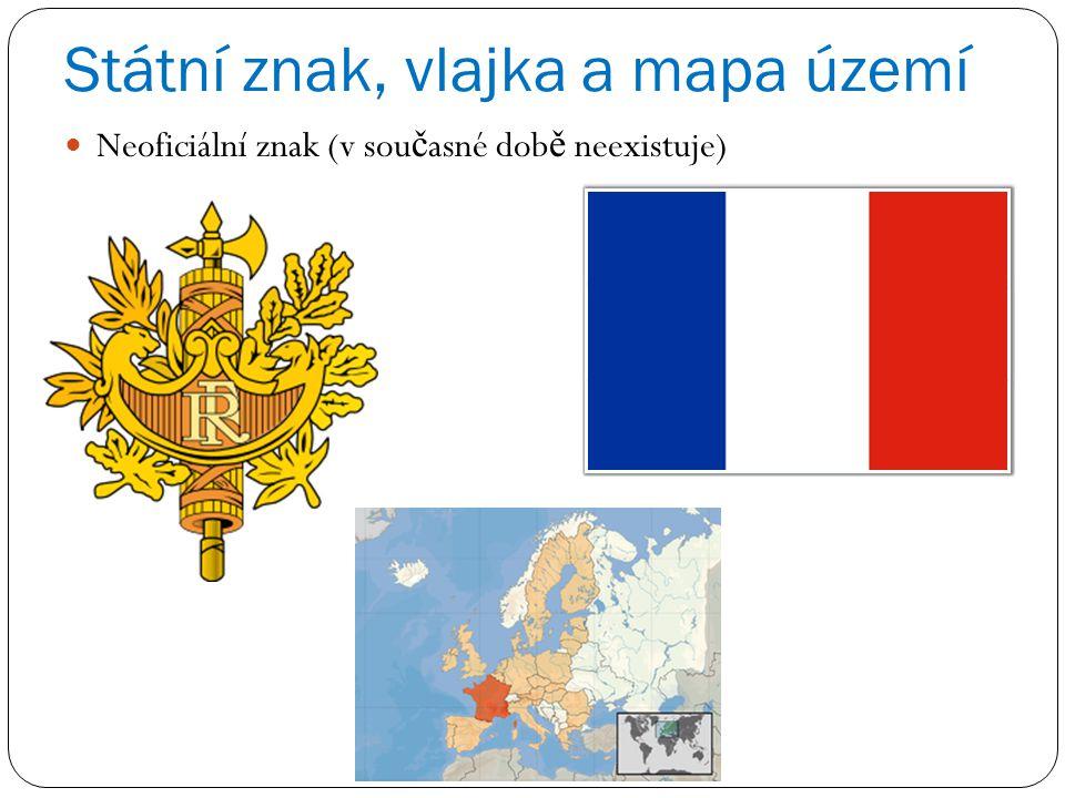 Státní znak, vlajka a mapa území Neoficiální znak (v sou č asné dob ě neexistuje)