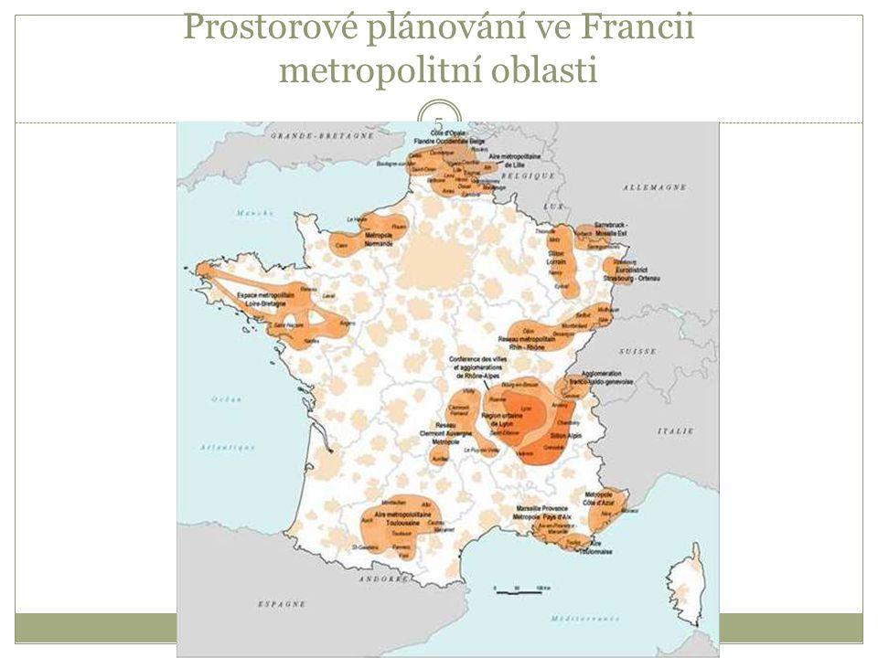 Prostorové plánování ve Francii metropolitní oblasti 5