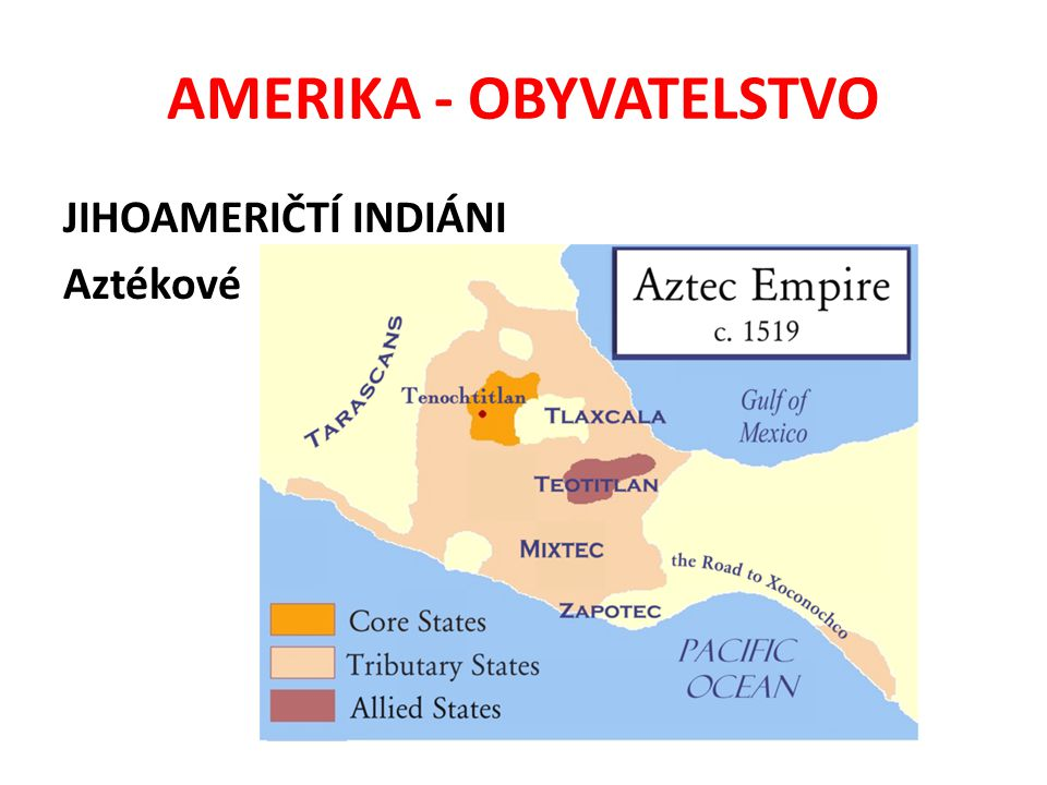 AMERIKA - OBYVATELSTVO JIHOAMERIČTÍ INDIÁNI Mayové