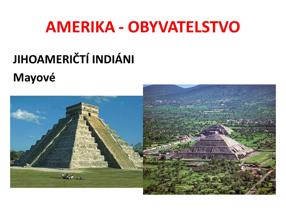 AMERIKA - OBYVATELSTVO JIHOAMERIČTÍ INDIÁNI Amazonie - Yanomamové