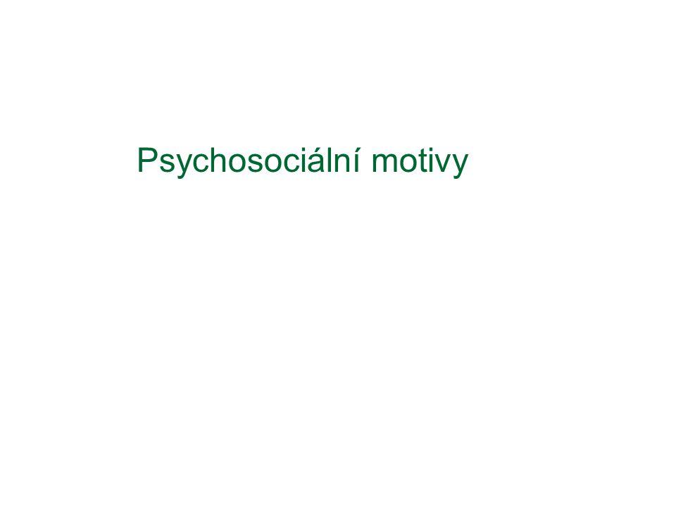 Psychosociální motivy