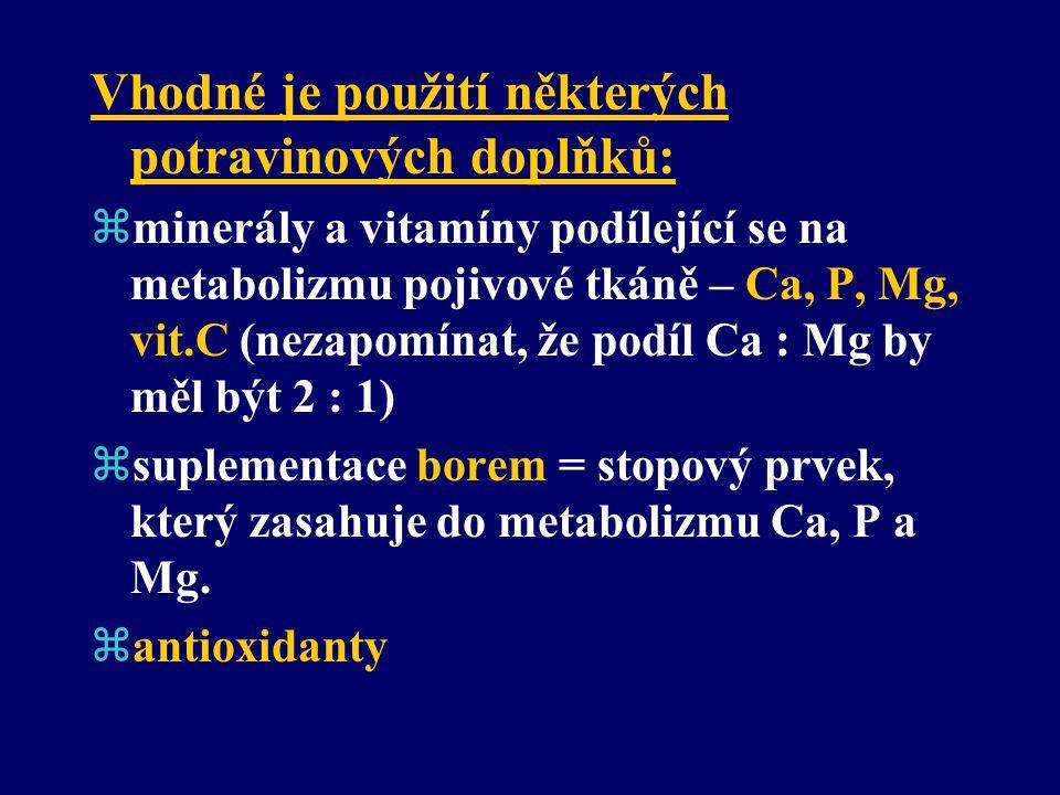 Nejzávažnější prohřešky ve stravování: zNedostatek vápníku. zNedostatek vitamínu D. zExtrémní příjem vitamínu C (snižuje vstřebávání Ca). zExtrémní př
