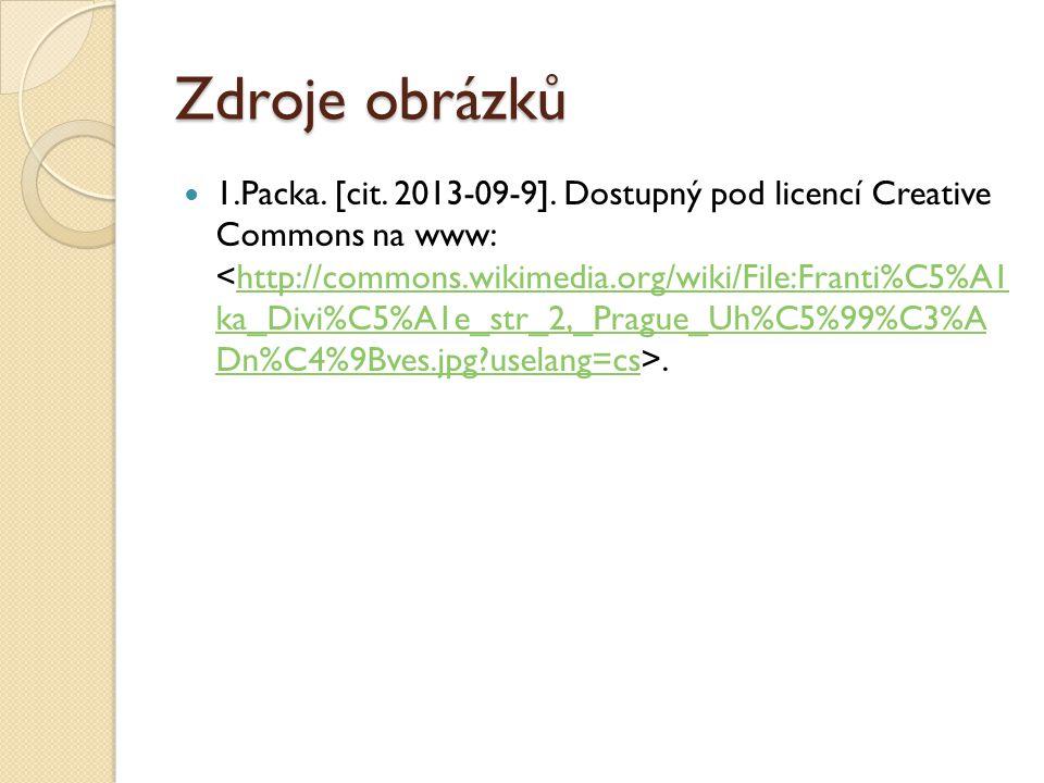 Zdroje obrázků 1.Packa. [cit. 2013-09-9].
