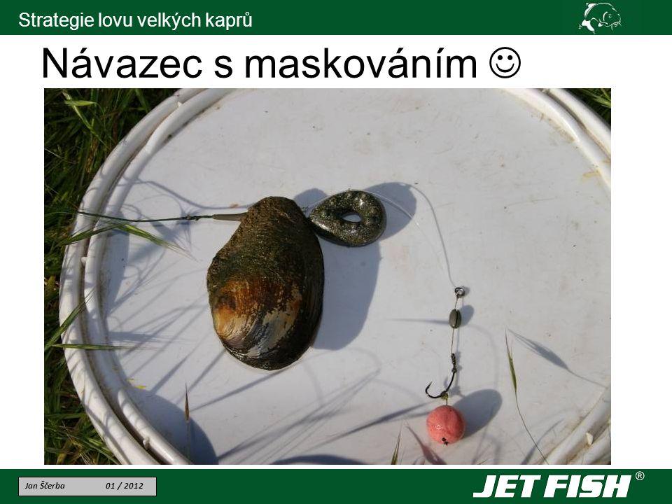 Jan Ščerba 01 / 2012 Strategie lovu velkých kaprů Návazec s maskováním