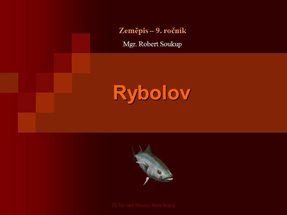 Rybolov Rybolov Zeměpis – 9. ročník Mgr. Robert Soukup ZŠ, Týn nad Vltavou, Malá Strana