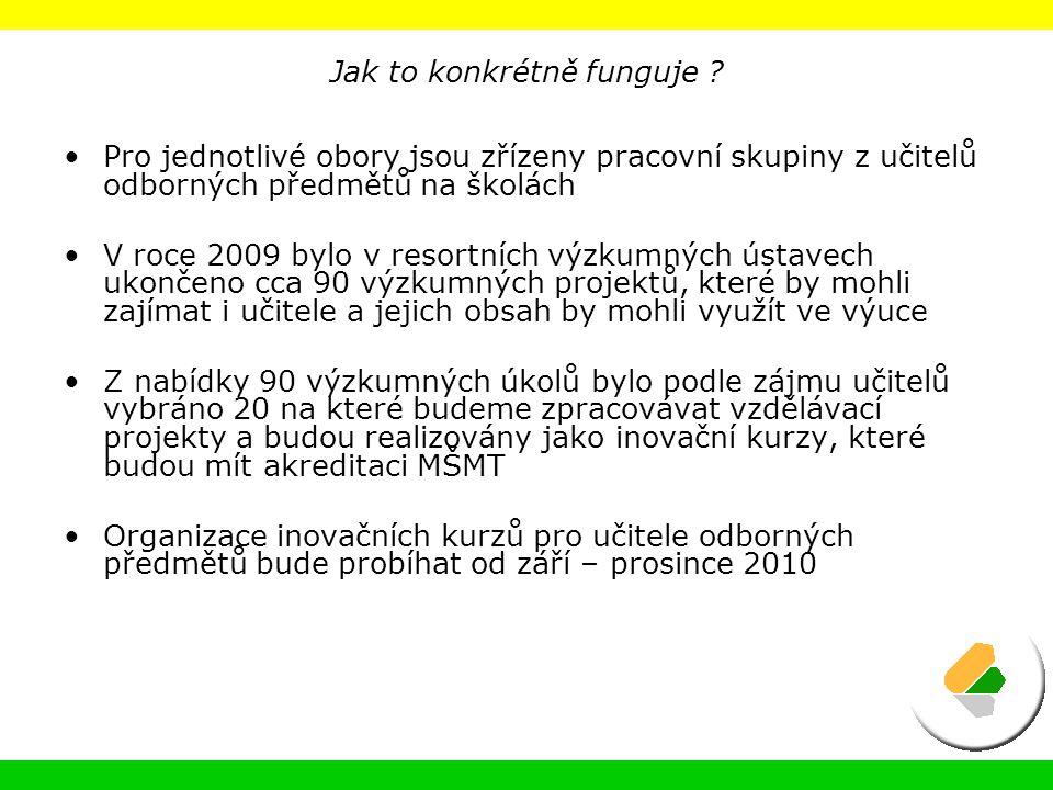 Koncepce poradenského systému MZe na léta 2009 – 2013