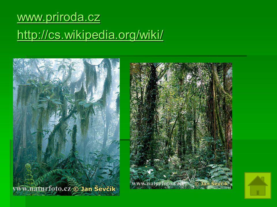 www.priroda.cz http://cs.wikipedia.org/wiki/