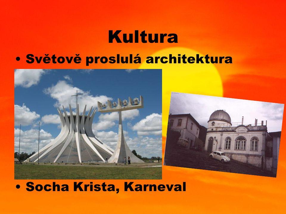 Kultura Světově proslulá architektura Socha Krista, Karneval