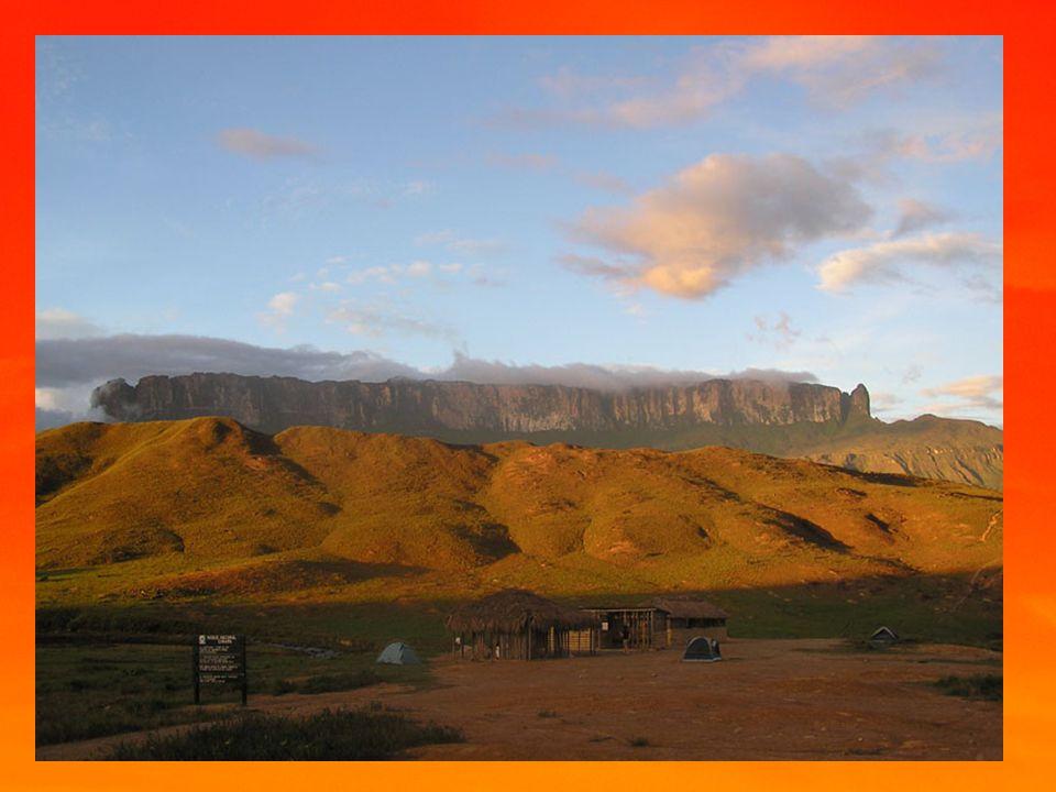 Obecná charakteristika Povrch - tabule,nížiny,planiny - stolové hory