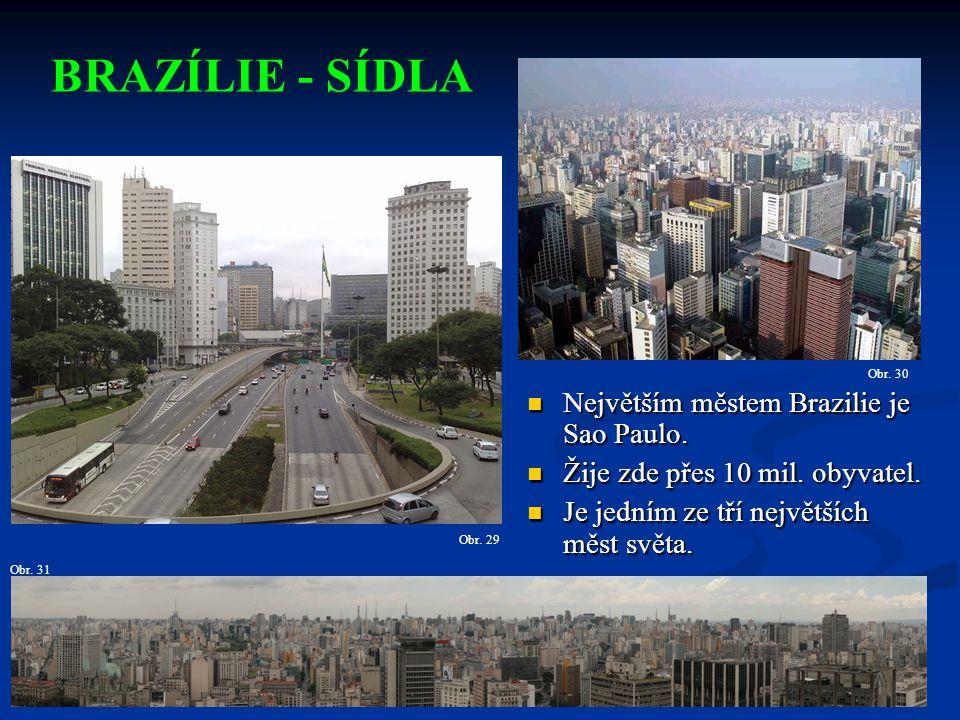 Největším městem Brazilie je Sao Paulo.Největším městem Brazilie je Sao Paulo.