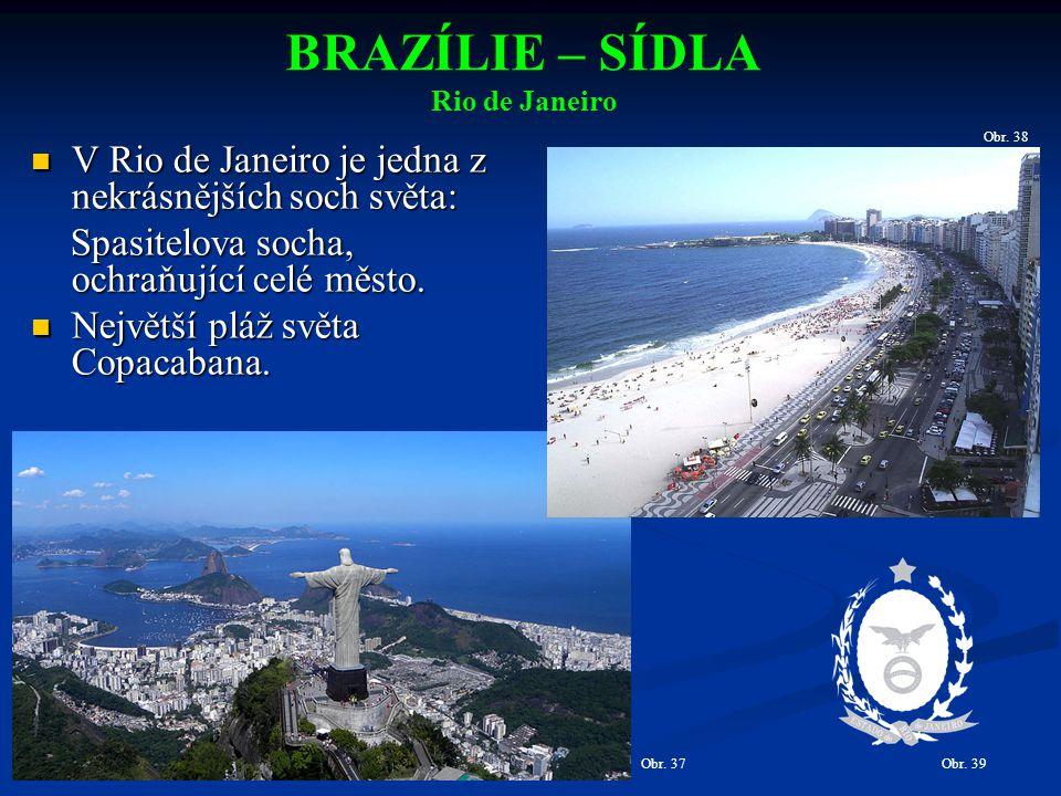 V Rio de Janeiro je jedna z nekrásnějších soch světa: V Rio de Janeiro je jedna z nekrásnějších soch světa: Spasitelova socha, ochraňující celé město.