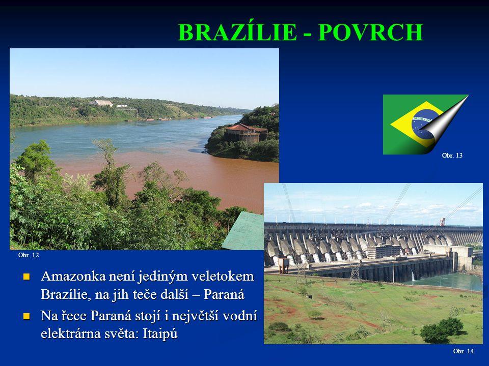BRAZÍLIE - POVRCH Obr.