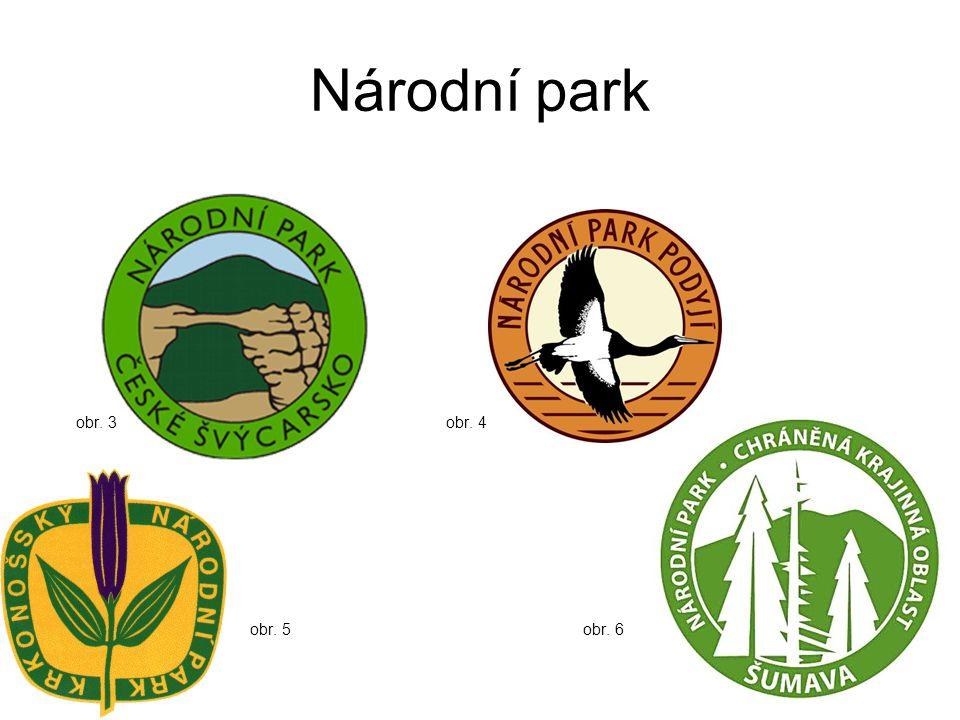 Národní park obr. 3 obr. 4 obr. 5 obr. 6