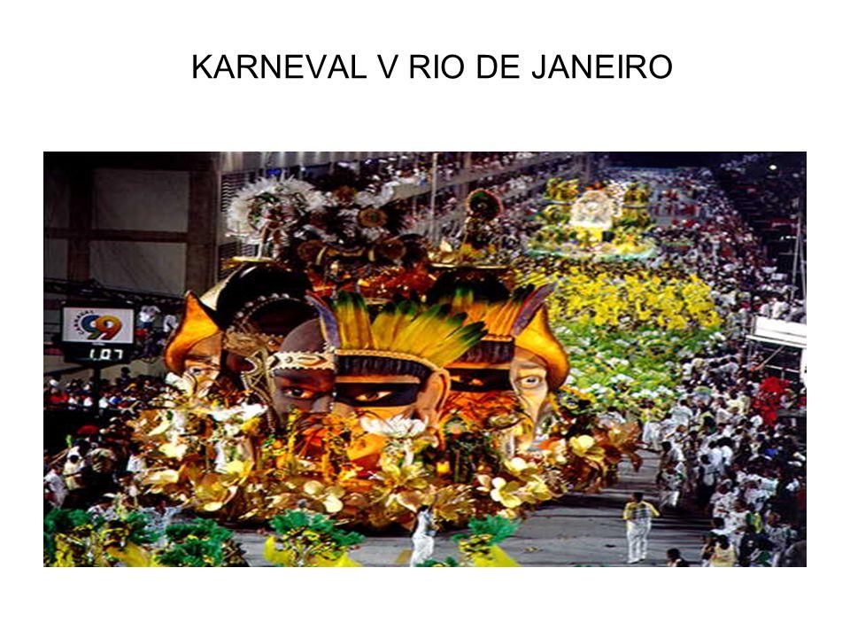 KARNEVAL V RIO DE JANEIRO