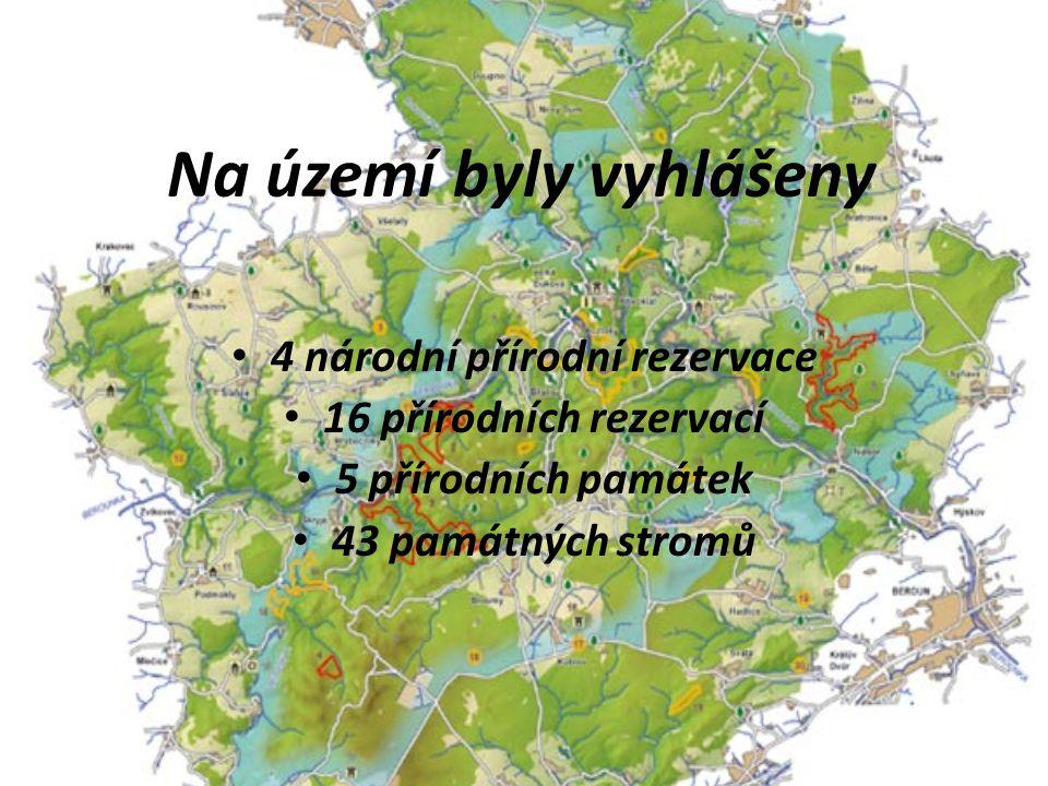 Na území byly vyhlášeny 4 národní přírodní rezervace 16 přírodních rezervací 5 přírodních památek 43 památných stromů