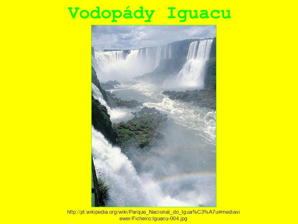 Vodopády Iguacu http://pt.wikipedia.org/wiki/Parque_Nacional_do_Igua%C3%A7u#mediavi ewer/Ficheiro:Iguacu-004.jpg