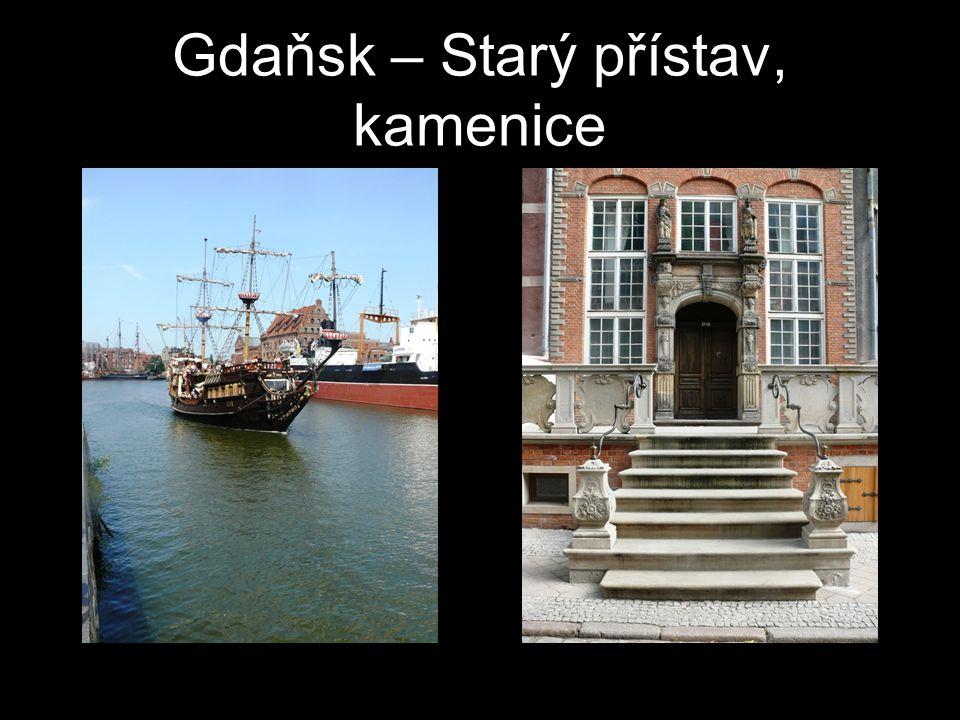 Gdaňsk – Starý přístav, kamenice