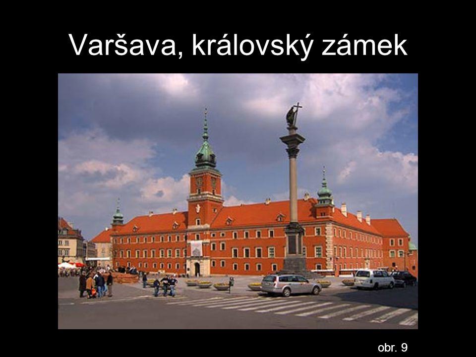 Varšava, královský zámek obr. 9