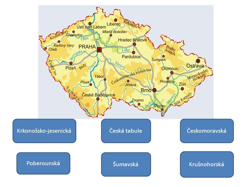 Novohradské hory Šumavská soustava se dělí na dvě podsoustavy.