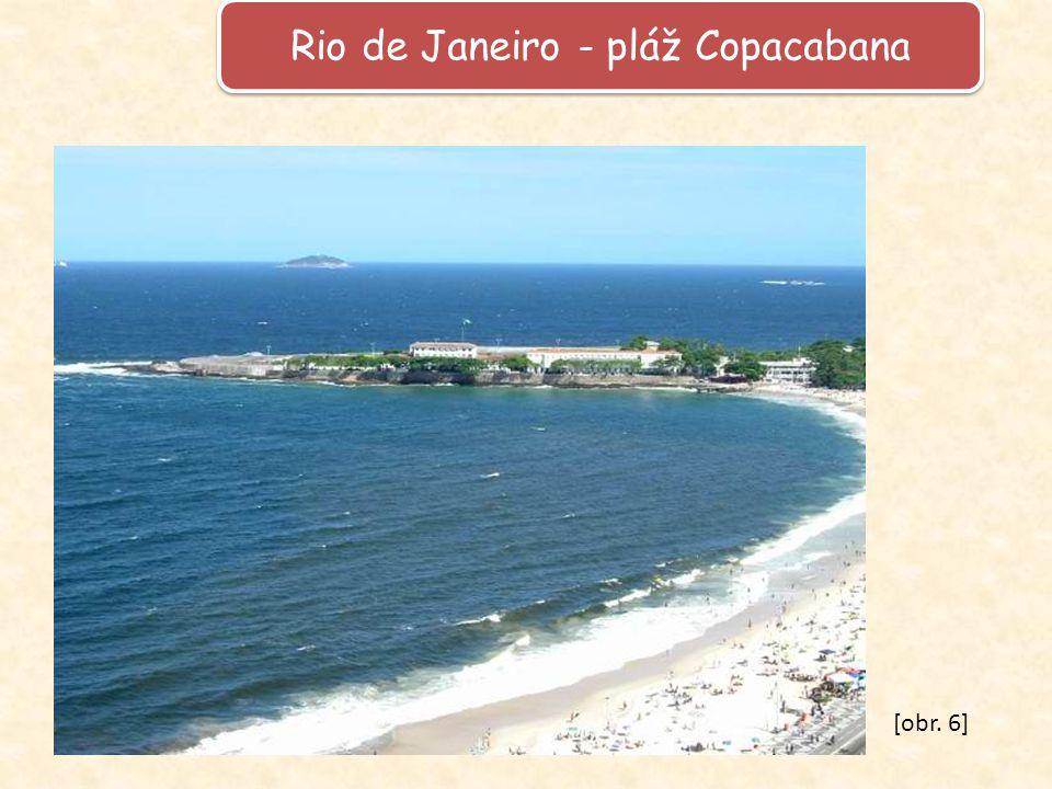 Rio de Janeiro - pláž Copacabana [obr. 6]
