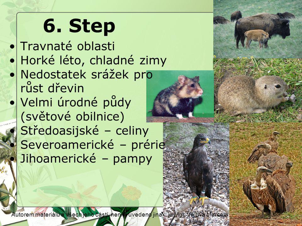 6.Step Autorem materiálu a všech jeho částí, není-li uvedeno jinak, je Mgr.