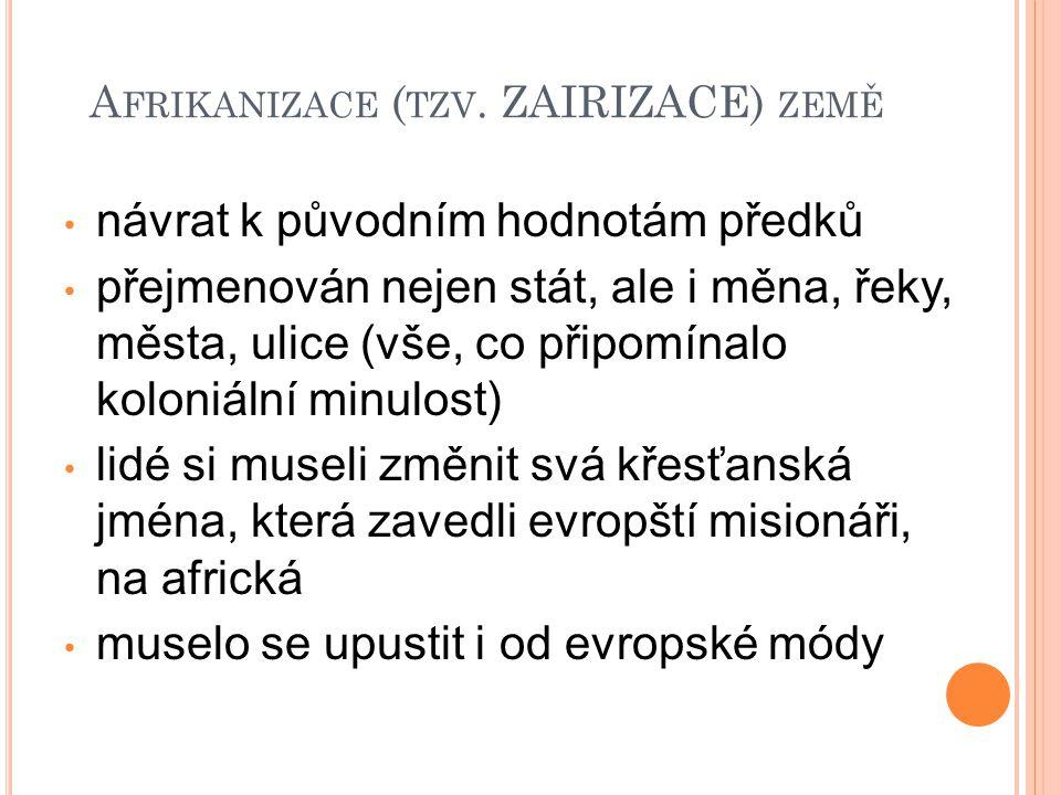 A FRIKANIZACE ( TZV.