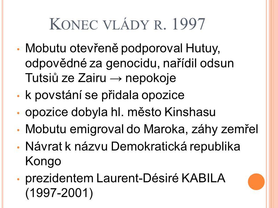 K ONEC VLÁDY R.