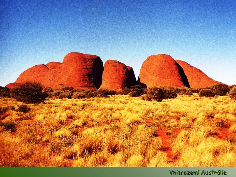 Vnitrozemí Austrálie