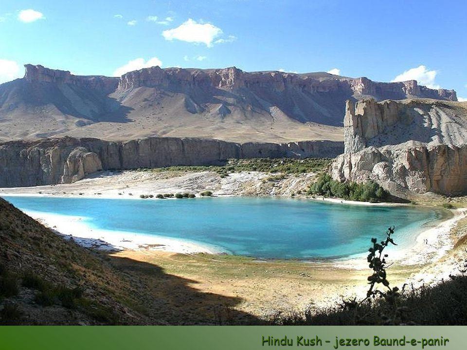 Hindu Kush – jezero Baund-e-panir