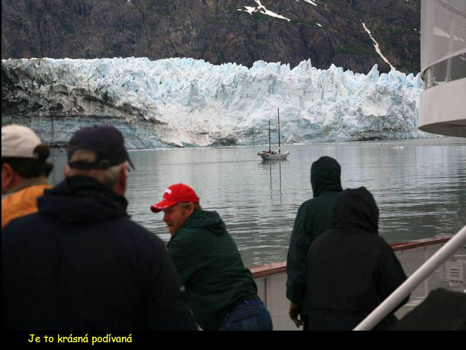 Zde ledovec končí svou pouť