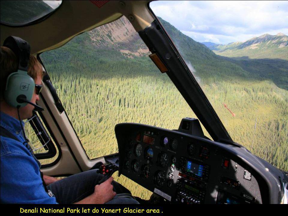 Denali National Park a turistická vesnice