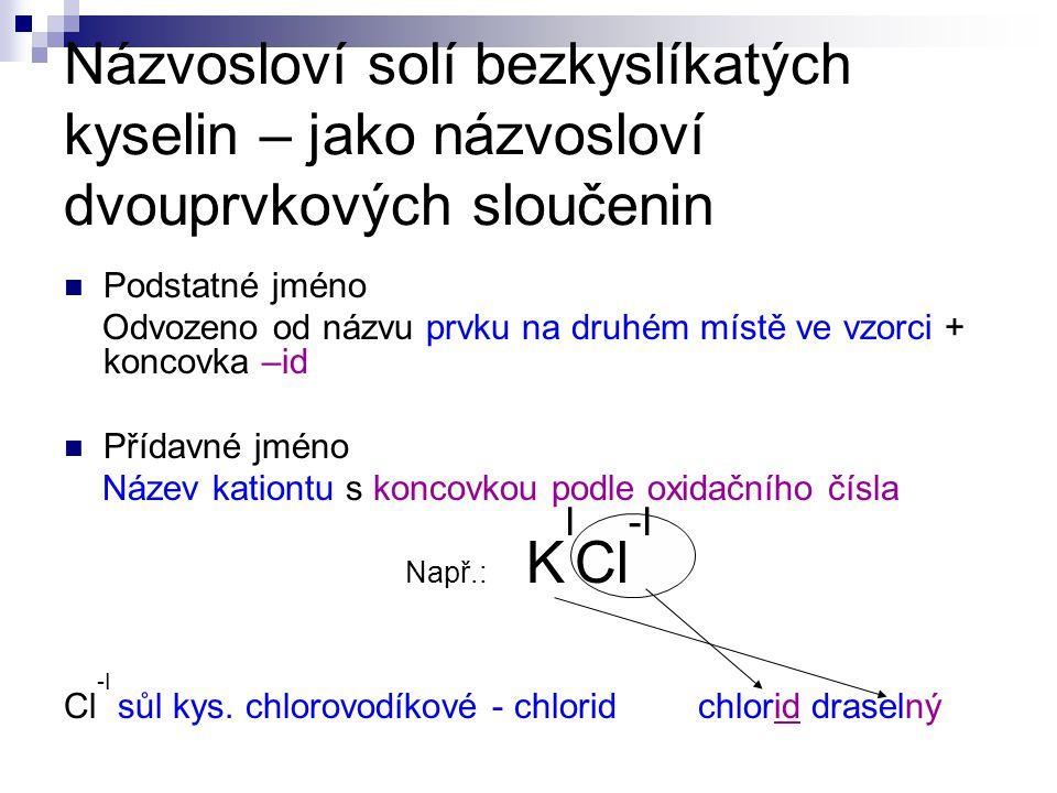 Použité zdroje: Čerpáno z: Beneš, P.– Pumpr, V. – Banýr, J.: Základy chemie 1.