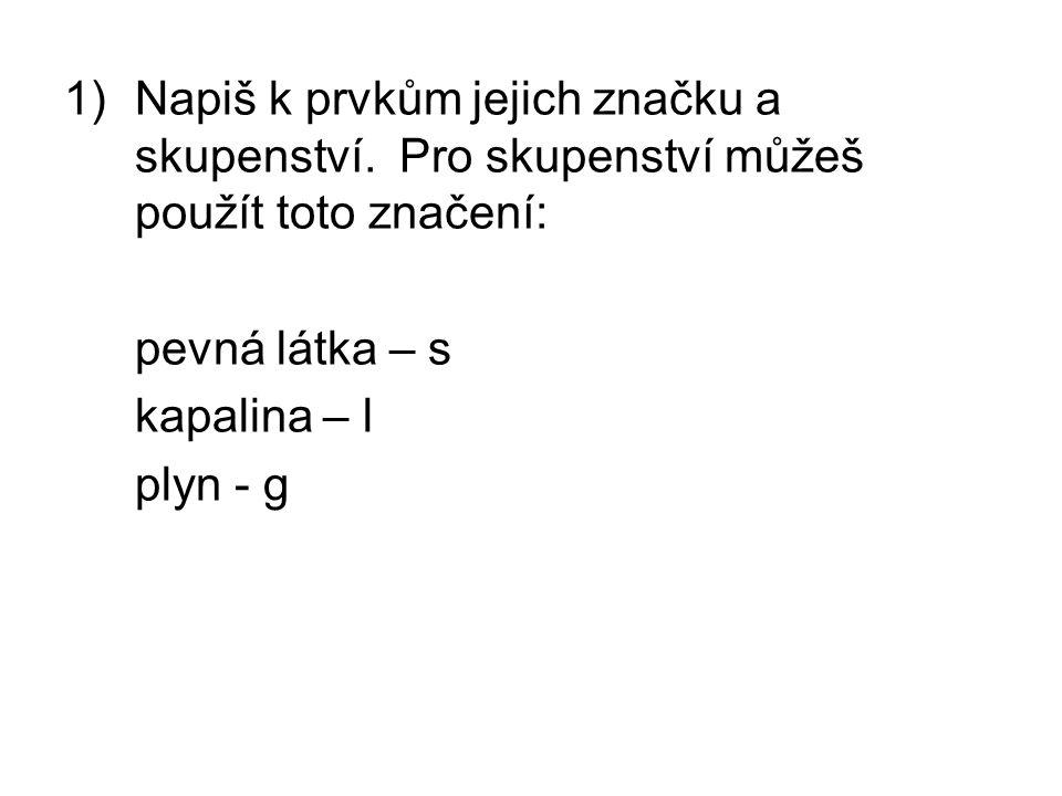 20) Amoniak je sloučenina: a)kyslíku b)dusíku c)síry d)fosforu