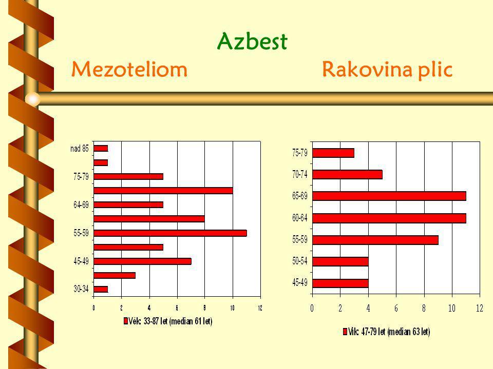 Azbest Mezoteliom Rakovina plic
